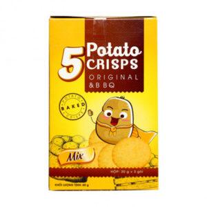Bánh Khoai Tây 5 Potato Crisps Original (60g)