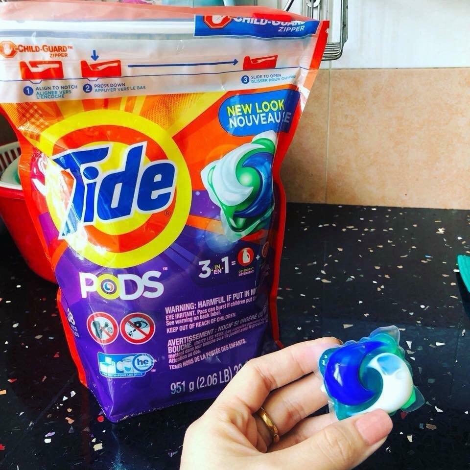 Viên giặt Tide