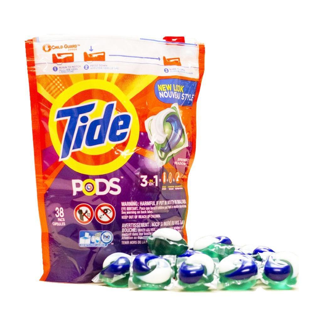 Tide Pods laundry balls