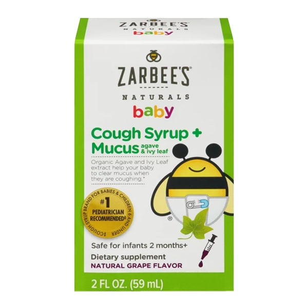 Zarbee's Baby Cough Syrup + Mucus