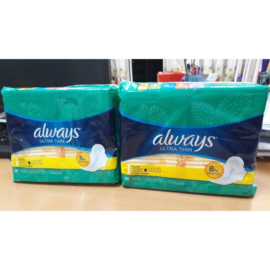 Always Ultra Thin Sanitary Pads