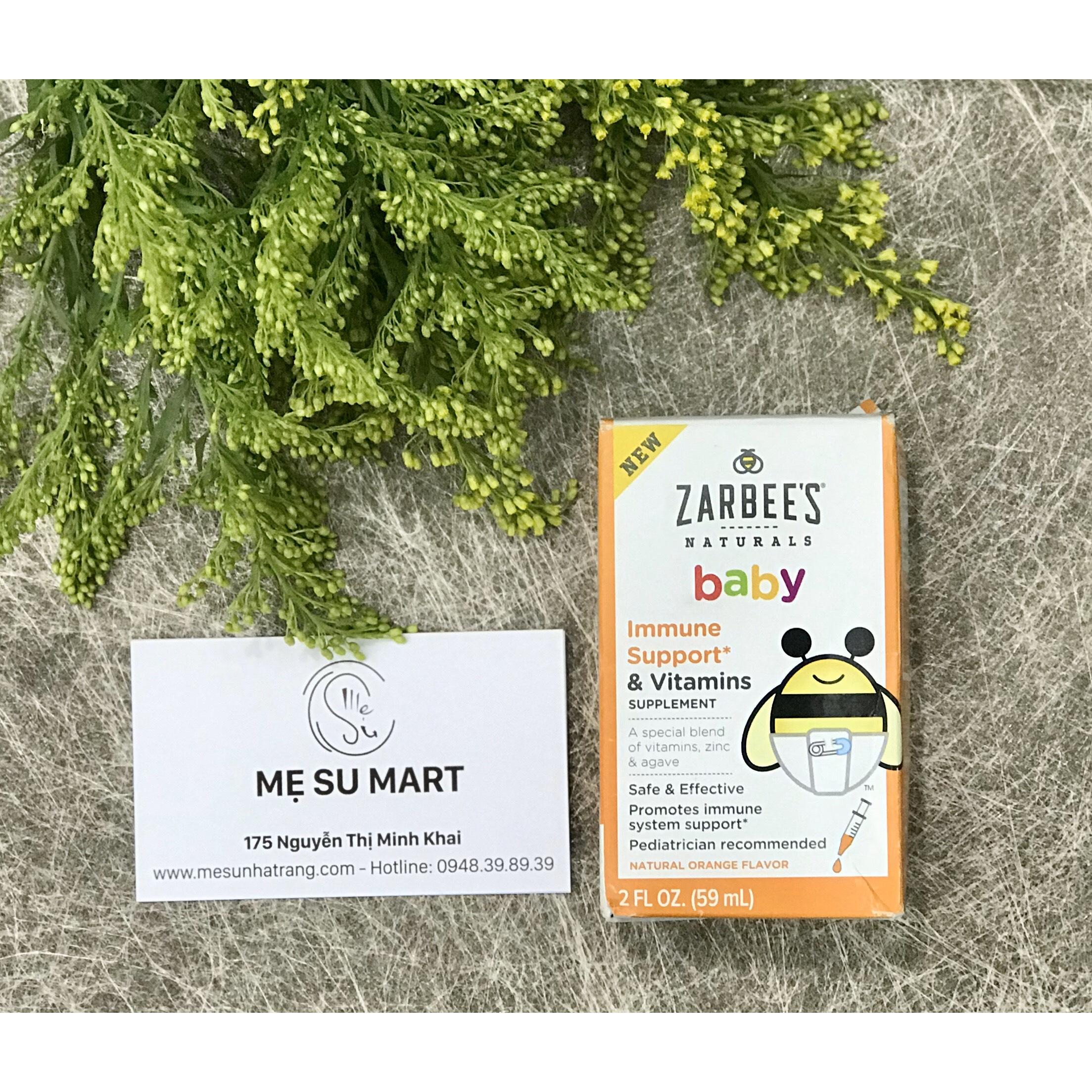 Zarbee's Naturals Baby Immune Support & Vitamins