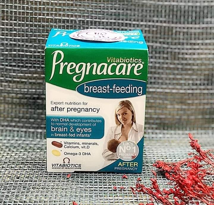 Vitamin tổng hợp cho mẹ sau sinh Pregnacare