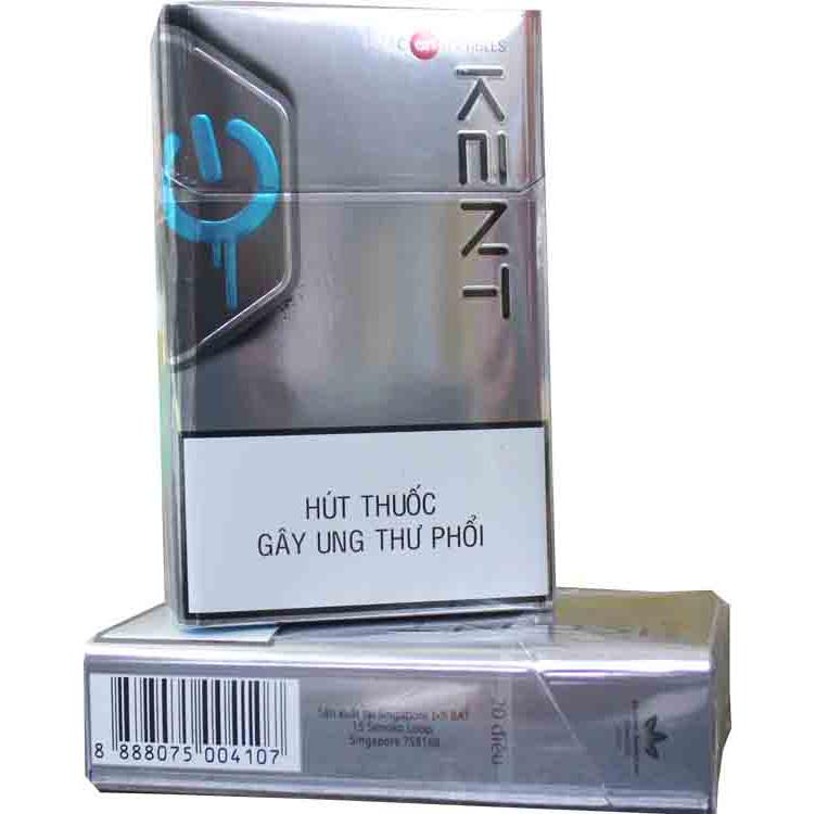 Kent cigarettes (Silver box)